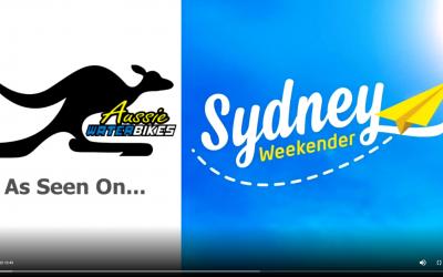 As seen on Sydney Weekender